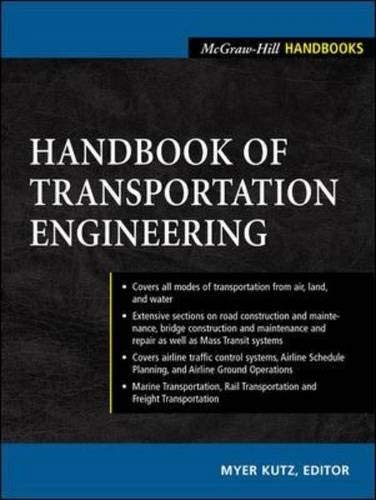 9780071391221: Handbook of Transportation Engineering