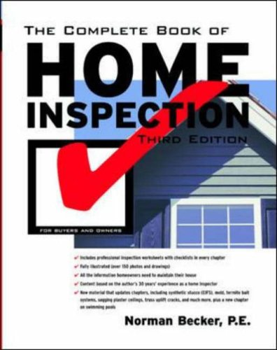 9780071391252: The Complete Book of Home Inspection
