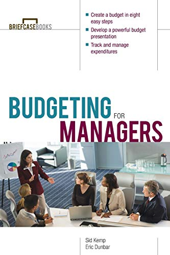 9780071391337: Budgeting for Managers