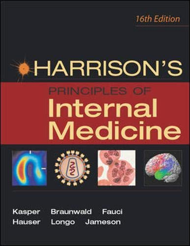 9780071391405: Harrison's Principles of Internal Medicine 16e (Two-Volume Set)
