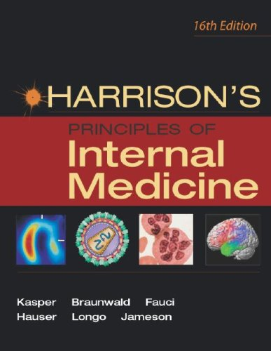 9780071391412: Harrison's Principles of Internal Medicine 16th Ed. (Vol. I)