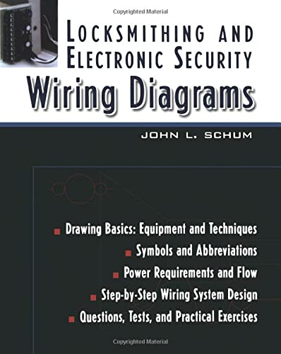9780071393058: Locksmithing and Electronic Security Wiring Diagrams (P/L Custom Scoring Survey)