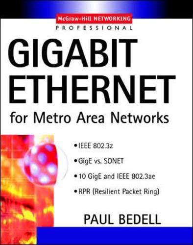 9780071393898: Gigabit Ethernet for Metro Area Networks