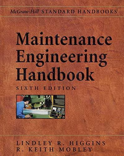 9780071394529: Maintenance Engineering Handbook