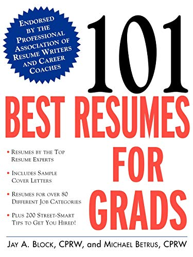 9780071395069: 101 Best Resumes for Grads