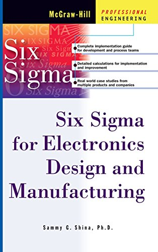 9780071395113: Six Sigma for Electronics Design and Manufacturing (Professional Engineering)
