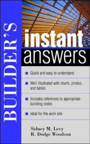 9780071395137: Builder's Instant Answers (Instant Answer Series)