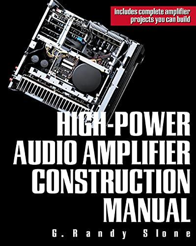9780071395724: High-Power Audio Amplifier Construction Manual