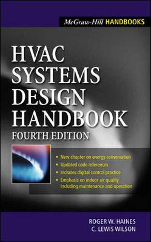 9780071395861: HVAC Systems Design Handbook