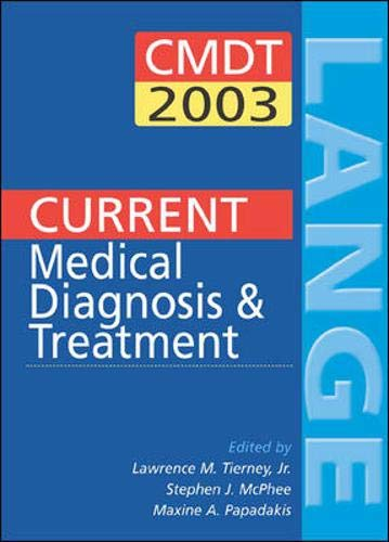 9780071395939: Current Medical Diagnosis and Treatment 2003