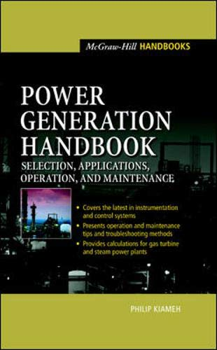 9780071396042: Power Generation Handbook : Selection, Applications, Operation, Maintenance