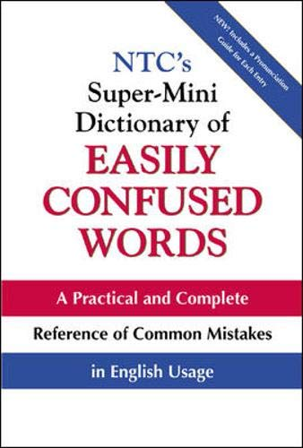 9780071396530: NTC's Super-Mini Dictionary of Easily Confused Words