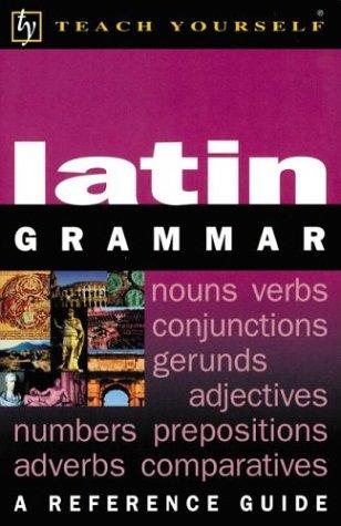 9780071396783: Latin Grammar (Teach Yourself (NTC))