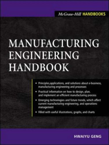 9780071398251: Manufacturing Engineering Handbook (McGraw-Hill Handbooks)