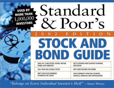 9780071398497: Standard and Poor's Stock and Bond Guide 2002