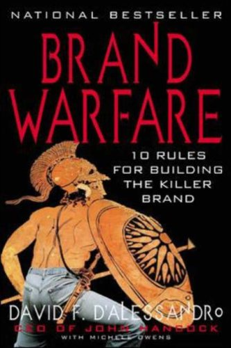 9780071398503: Brand Warfare: 10 Rules for Building the Killer Brand (Marketing/Sales/Advertising & Promotion)