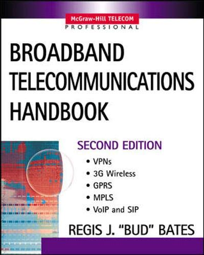 9780071398510: Broadband Telecommunications Handbook
