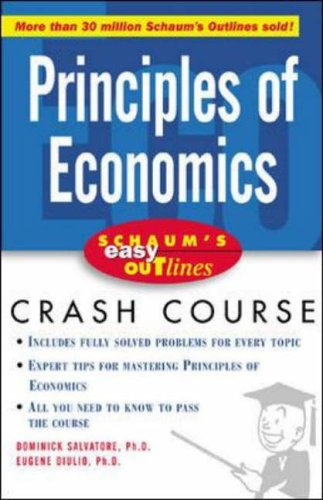 9780071398732: Schaum's Easy Outline of Principles of Economics: Based on Schaum's Outline of Theory and Problems of Principles of Economics (Schaums' Business Economics)