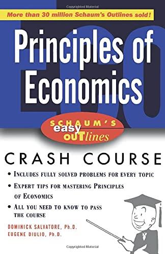 9780071398732: Schaum's Easy Outline of Principles of Economics