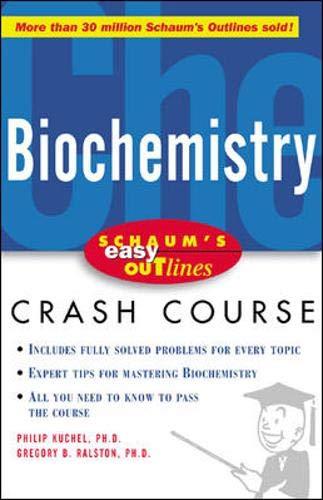 9780071398756: Schaum's Easy Outline of Biochemistry