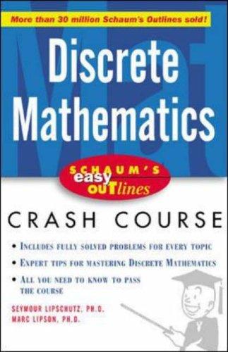9780071398770: Schaum's Easy Outline of Discrete Mathematics