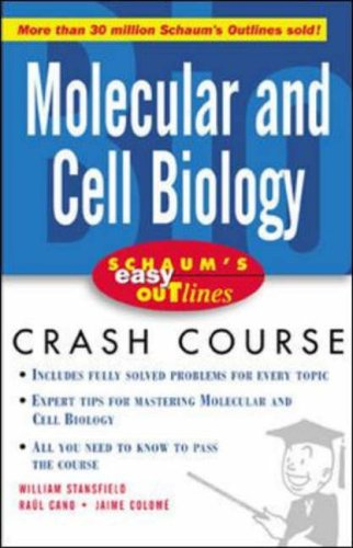 9780071398817: Schaum's Easy Outline Molecular and Cell Biology: Based on Schaum's Outline of Theory and Problems of Molecular and Cell Biology (Schaum's Easy Outlines)