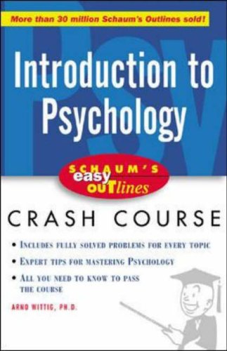 9780071398824: Schaum's Easy Outline of Introduction to Psychology