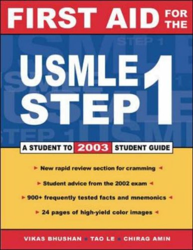 9780071399128: First Aid for the USMLE Step 1 2003