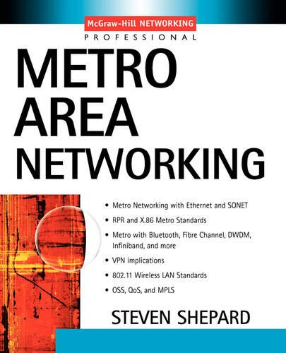 9780071399142: Metro Area Networking (McGraw-Hill Networking Professional)