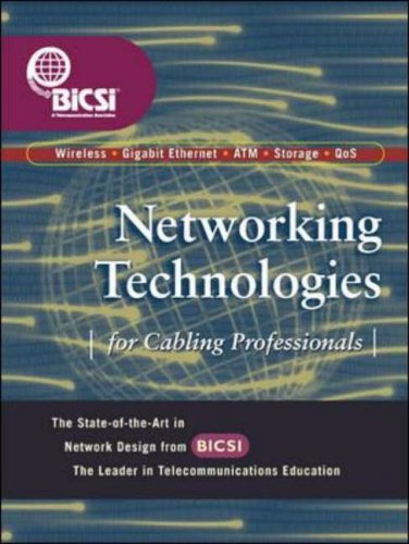 9780071399173: Network Cabling Blueprints: Designing by Example - Mobile/VoIP/Gigabit Ethernet/Storage Networks/ATM (BICSI Press)