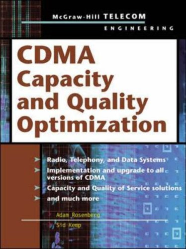 9780071399197: CDMA Capacity and Quality Optimization (Telecom Engineering)