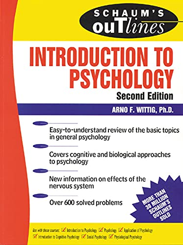 9780071400084: Schaum's Outline of Introduction to Psychology