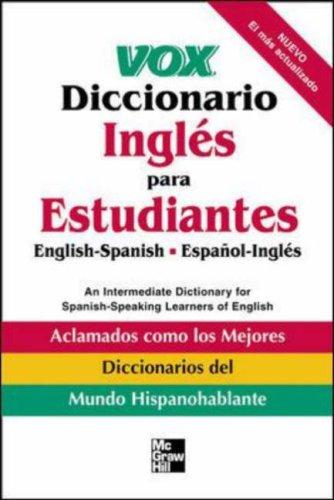 9780071400244: Vox Diccionario Ingles Para Estudiantes : English-Spanish Espanol-Ingles