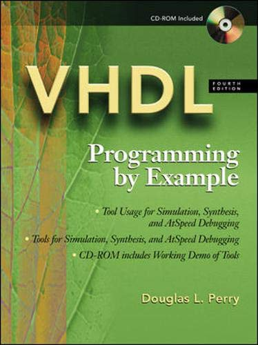 9780071400701: VHDL : Programming By Example