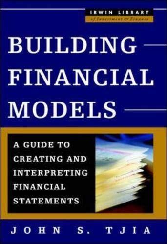 9780071402101: Building Financial Models