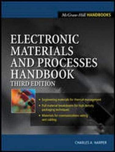 9780071402149: Electronic Materials and Processes Handbook