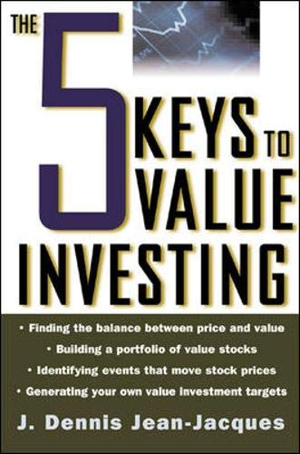9780071402316: The 5 Keys to Value Investing