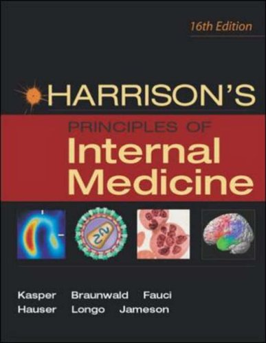9780071402354: Harrison's Principles of Internal Medicine 16th Edition