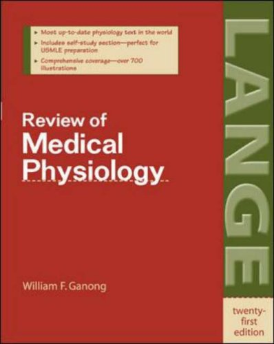 9780071402361: Review of Medical Physiology (stm09)