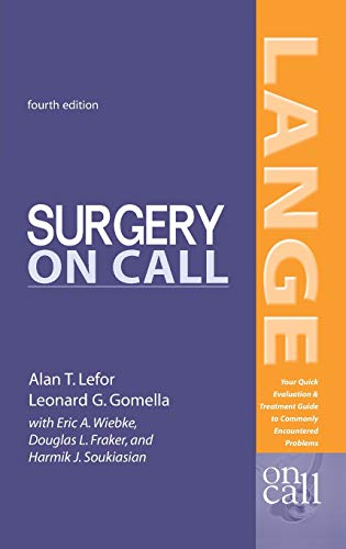 9780071402545: Surgery On Call, Fourth Edition (LANGE On Call)