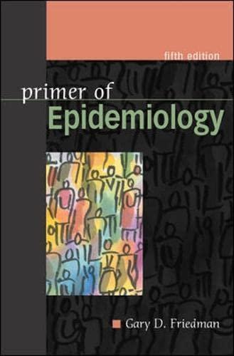 9780071402583: Primer of Epidemiology