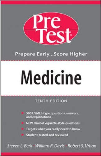 9780071402873: Medicine: Medicine: Pre-Test Self-Assessment and Review (PreTest Clinical Science)