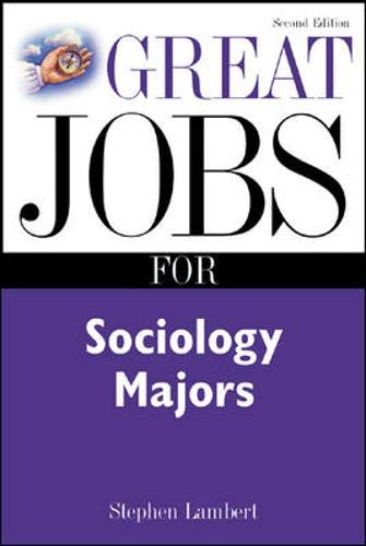 9780071403016: Great Jobs for Sociology Majors, 2nd Ed.