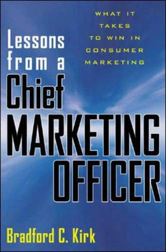 9780071403177: Lessons from a Chief Marketing Officer