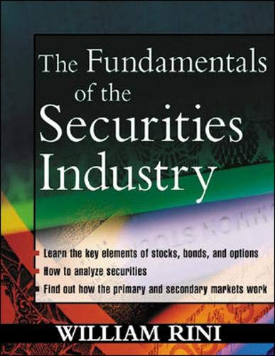 9780071403184: Fundamentals of the Securities Industry