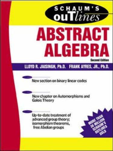 9780071403276: Schaum's Outline of Abstract Algebra (Schaum's Easy Outlines)
