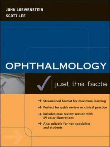 9780071403320: Ophthalmology: Just the Facts
