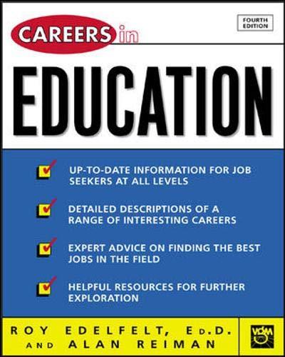 9780071405782: Careers in Education