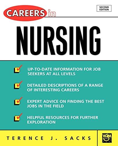 9780071405805: Careers in Nursing (Careers In! Series)