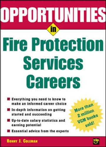 9780071405836: Opportunities in Fire Protection Services Careers